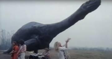 L'incredibile video dei Van Halen che suonano nel Parco della PreistoriaaRivolta d'Adda