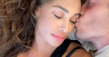 È nata Luna, la prima figlia di Bélen Rodriguez e Antonino Spinalbese: ecco le foto