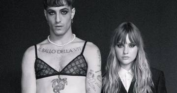 Maneskin: il look di Damiano e Victoria per il nuovo video scatena i fan