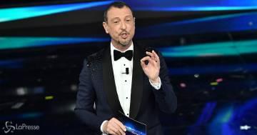 """Amadeus cambia idea su Sanremo: """"Potrei fare la terza edizione se…"""""""