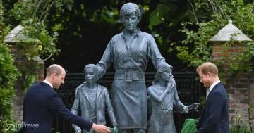 Lady Diana avrebbe compiuto 60 anni: ecco la statua voluta da William e Harry