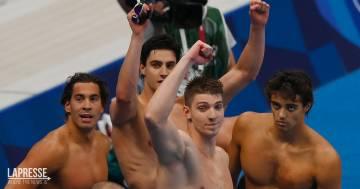 Tokyo 2020, storica medaglia nel nuoto per l'Italia: tutti gli azzurri saliti finora sul podio