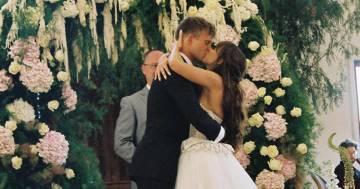 La star di Pornhub Riley Reid si è sposata con l'atleta Pasha Petkuns: ecco le foto