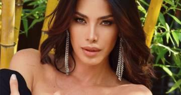 Aida Yespica in Sardegna: splendida nello scatto in bikini
