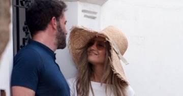 Jennifer Lopez e Ben Affleck insieme a Capri in una romantica fuga d'amore