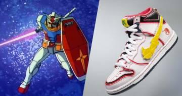 La Nike lancerà due nuovi modelli dedicati al mitico Gundam