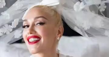 Gwen Stefani pubblica le foto del suo matrimonio e dell'abito da sposa punk-chic