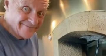 Anthony Hopkins ai fornelli: il video della ricetta tutta italiana