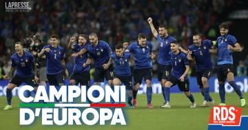 L'Italia è campione d'Europa!