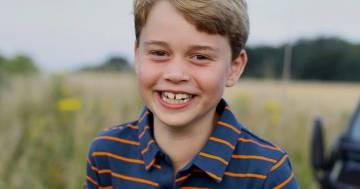 Oggi il principe George compie 8 anni: la foto è un omaggio al bisnonno Filippo