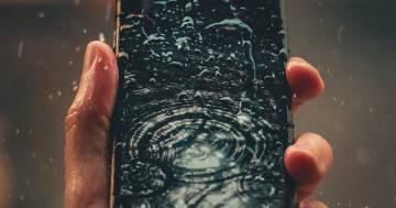 Il vostro smartphone è davvero resistente all'acqua? Quest'app lo verifica