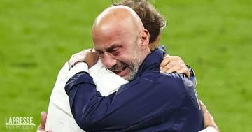 Mancini e Vialli: il loro è l'abbraccio simbolo di questo Europeo