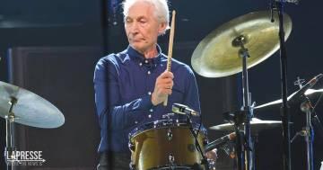 È morto Charlie Watts, il leggendario batterista dei Rolling Stones