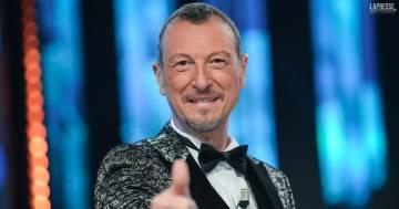 Sanremo 2022, Amadeus fa tris: l'annucio ufficiale