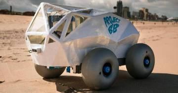Beach Bot, il robot che pulisce la spiaggia dai mozziconi di sigaretta