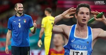 Filippo Tortu e il meme di Chiellini per vincere l'oro nella staffetta
