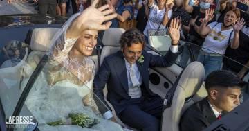 L'acconciatura scelta da Miriam Leone è una bellissima dedica d'amore per il marito Paolo