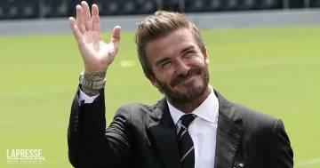 David Beckham, il dolce messaggio per la figlia prima del rientro a scuola