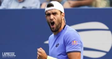 Matteo Berrettini vola ai quarti di finale nell'US Open: sfiderà (di nuovo) Djokovic
