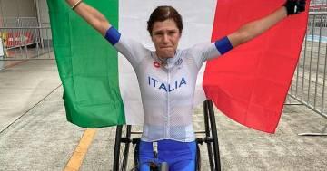 """Paralimpiadi, Katia Aere conquista il bronzo e dedica il successo ad Alex Zanardi: """"Sono qui per lui"""""""