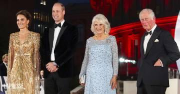 Daniel Craig riunisce i reali: Kate, William, Carlo e Camilla alla premiere di 007