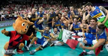 Italia da sogno: gli azzurri del volley sono campioni d'Europa!