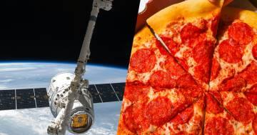 Nella stazione spaziale c'è un pizza party: 'Ma niente ananas'