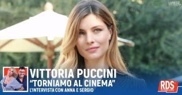 Vittoria Puccini: 'il cinema è una emozione da condividere'