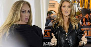 Adele ha una gomma da masticare di Céline Dion incorniciata in casa: ecco il video