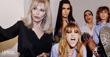 """I Maneskin secondo Amanda Lear: """"Sono degli innovatori come David Bowie"""""""