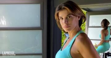 L'allenamento di Elisabetta Canalis conquista tutti: ecco la reazione dei follower