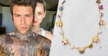 Ecco quanto costa la collana che Chiara Ferragni ha regalato a Fedez