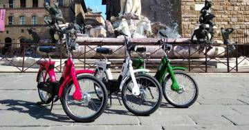 Ecco il kit per trasformare il mitico Ciao Piaggio in una bici elettrica