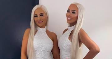 Due gemelle spendono 165.000€ in interventi chirurgici per assomigliarsi
