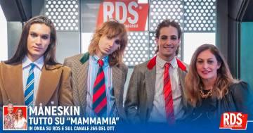 """I Måneskin presentano """"Mammamia"""" con I Peggio Più Peggio di RDS"""