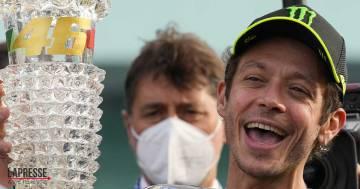 Valentino Rossi saluta la MotoGP: l'abbraccio dei tifosi e la dedica di Francesca Sofia Novello