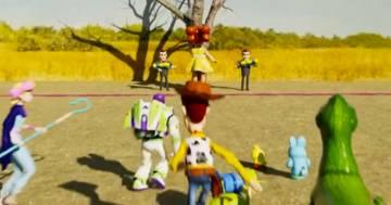 Ecco come sarebbe Squid Game con i personaggi di Toy Story, il video è fantastico!