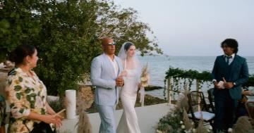 Vin Diesel accompagna all'altare la figlia dell'amico Paul Walker